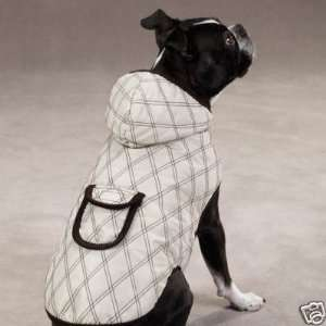 Zack & Zoey Quilted Dog Coat Jacket BEIGE EX SMALL
