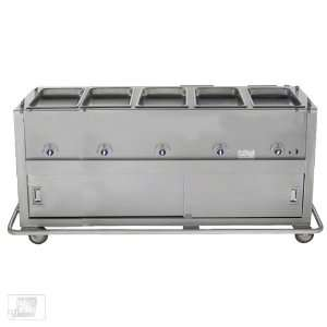 Duke EP 5 CBSS 5 Well Portable Electric Steam Table
