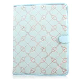 Baby Blue Neoprene Designer Case for Apple iPad 2 (12160) Electronics