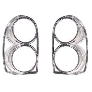 Rugged Ridge 13310.31 Pair Of Chrome Tail Light Trim Covers for 2002