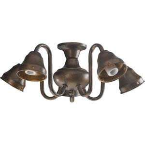 Quorum International 2530 8088 Gold Ceiling Fan Light