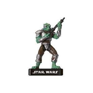 Star Wars Miniatures Trandoshan Mercenary # 55   Alliance
