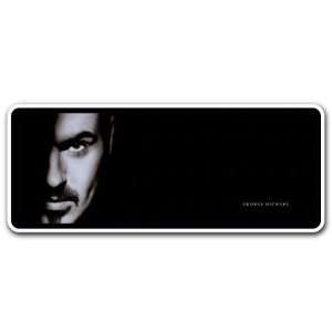 George Michael Singer Music Car Bumper Sticker Decal 6x2
