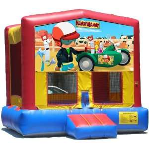Handy Manny Bounce House Inflatable Jumper Art Panel Theme
