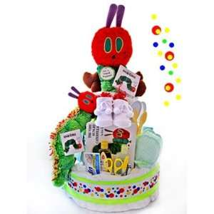 Hungry Caterpillar 3 Tier Diaper Cake   Great Gift Baby