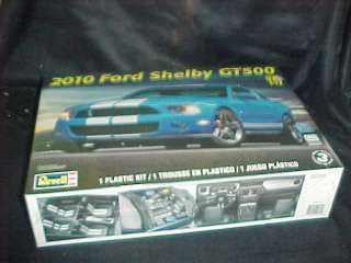 Revell 2010 Ford Shelby GT500 1/12 scale car model kit #2623