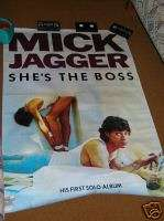 Rolling Stones MICK JAGGER SHes the BOSS Poster 41x58