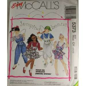 McCalls 5373 Pattern Jumping Beans Girls Jumpers,Jumpsuits and T Shirt