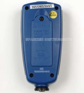 CEM DT 156 Paint Coating Thickness Gauge Tester F/NF