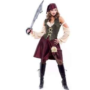 High Seas Womens Pirate Costume Toys & Games