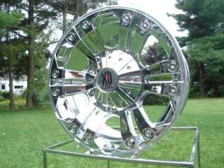 778 XD778 MONSTER CHROME 20X10 CHEVY FORD DODGE WHEEL