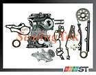 22R 22RE Timing Cover Chain Kit + Water Pump 22REC Engine car truck