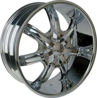 Wheel + Tire Packages 26 inch Triple chrome rim U2 35T