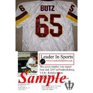 Dave Butz Autographed/Hand Signed Jersey   Washington
