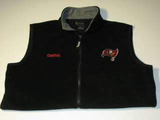 Tampa Bay Buccaneers Fleece NFL Vest sz XL, X Large