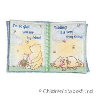 CLASSIC WINNIE THE POOH CLOTH/SOFT BOOK TIGGER~EEYORE
