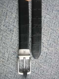 New $80 / $64 NIke Tiger Woods Reversible Leather Golf Belt 34