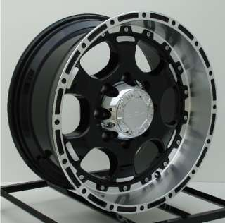 17 inch Black Wheels/Rims Ford F250 F350 Truck 8 Lug