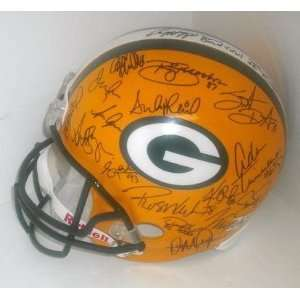 1996 Green Bay Packers Hand Signed Autographed Football