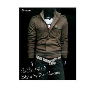 C71012 Mens New Stylish Slim Fit Mens Jackets Cotton Sweats & Hoody