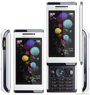 Sony Ericsson Aino   Luminous white 8MP GPS WIFI (Unlocked) Cellular