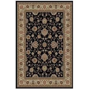 Tayse Rugs Antiquity 5 x 7 black Area Rug