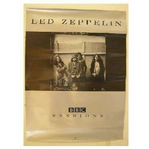 Led Zeppelin Poster Band Shot BBC Sessions