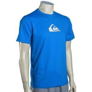 Quiksilver Perfecta SS Surf Shirt   Blue Sports