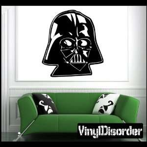 Darth Vader Head Starwars Star Wars Vinyl Decal Stickers