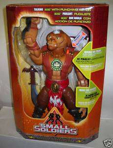 RARE NRFB Small Soldiers Talking Archer in Foreign Box