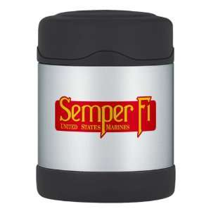 Thermos Food Jar Semper Fi Marine Corps
