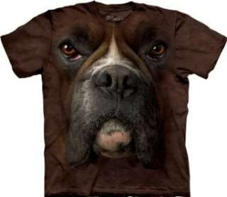The Mountain Boxer Face Mens T shirt Tee Clothing