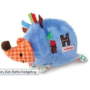 Kids 5 Inch Plush Baby Rattle   Blue H Is for Hedgehog Toys & Games