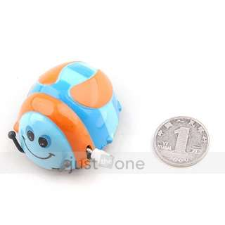 Funny Colorful Baby Kid Beetle Thumbing Somersault Running Clockwork