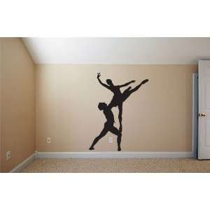 Vinyl Wall Art Decal Sticker Duel Ballerinas