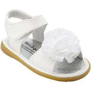 Wee Squeak Baby Toddler Girl White Peony Maryjane Shoes 3 12 Baby