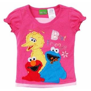 Sesame Street Elmo & Friends Girls Homespun Shirt