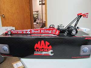 Action 124 1997 Kenny Bernstein Mac Tools   Budweiser NHRA Dragster