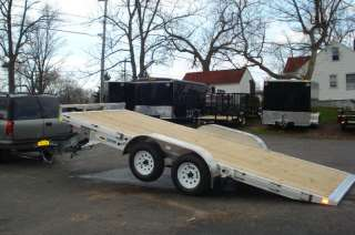 2012 18FT ALUMINUM SPEEDLOADER TILTBED CAR TRAILER