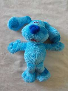 Fisher Price Talking Blues Clues Dog SO MUCH TOO SAY BLUE plush doll