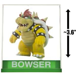 Bowser ~3.6 Figure + Display Case Super Mario Figurine
