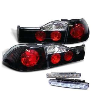 Eautolight 01 02 Honda Accord 4 Door Tail Lights + LED