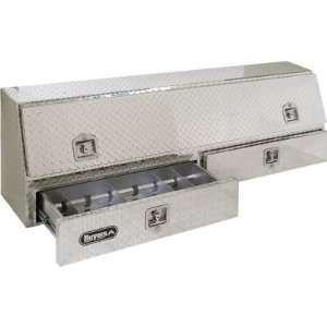 Buyers Aluminum Topside Truck Box with Drawers   72In.L x 21In.W x 13
