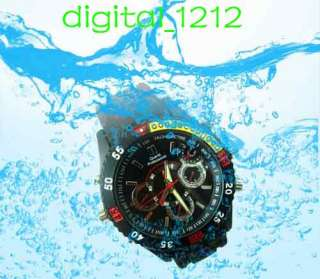 4GB Motion detection waterproof Diving watch Spy camera