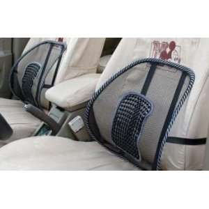 Lumbar Back Support Massaging Pain Relief for Car Chair