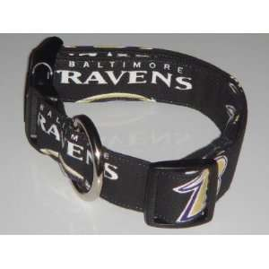 NFL Baltimore Ravens Football Dog Collar Medium 1