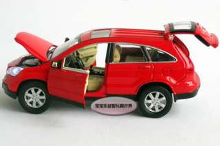 32 Honda CRV Alloy Diecast Model Car With Sound&Light Red B222b