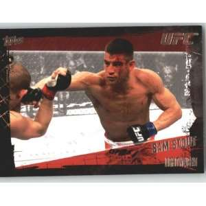 2010 Topps UFC Trading Card # 77 Sam Stout (Ultimate Fighting
