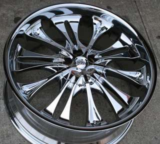 RVM WI28 22 CHROME RIMS WHEELS MAZDA CX7 CX9