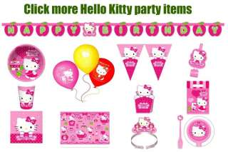 Hello Kitty Birthday Party Plastic Table Cover h976